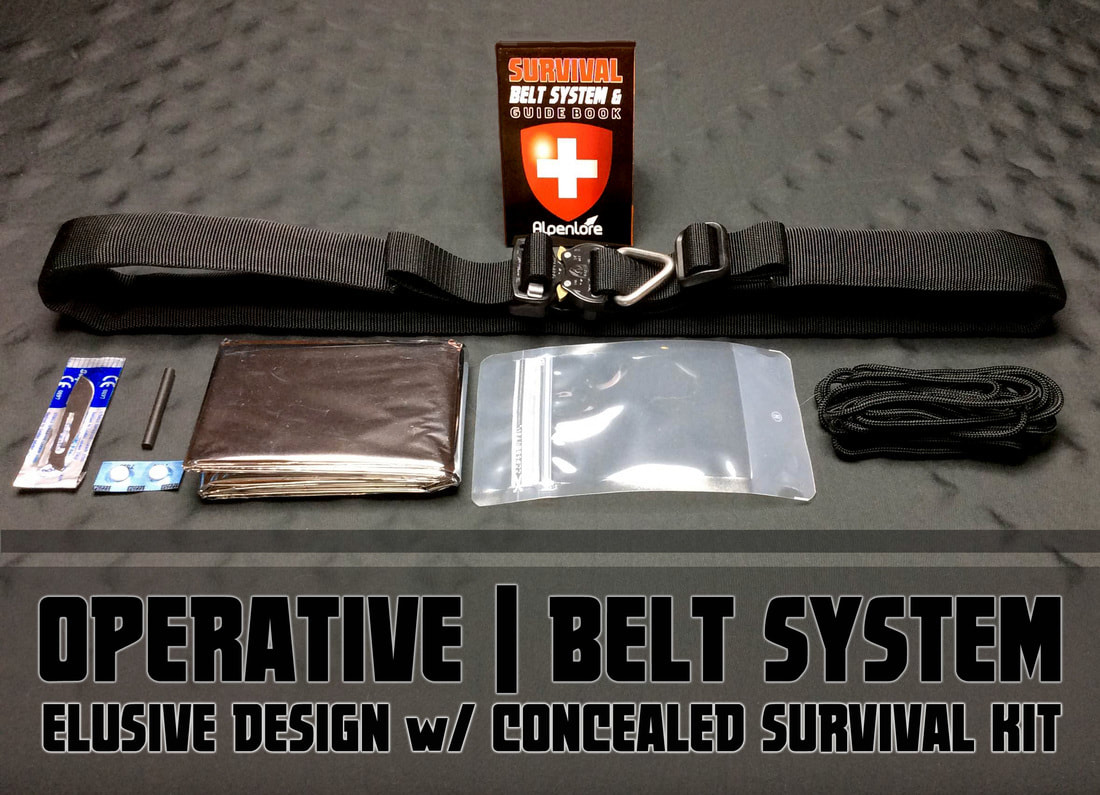 tactical survival belt